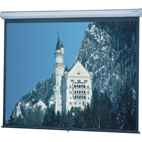 "Da-Lite 92689 Model C Manual Projection Screen with CSR (65 x 116"")"