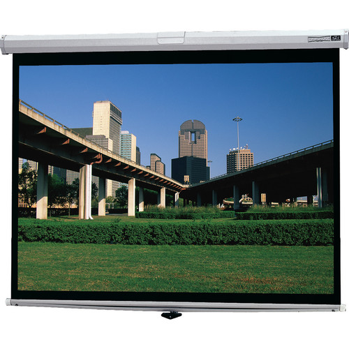 "Da-Lite 92729 Deluxe Model B Front Projection Screen (50x50"")"