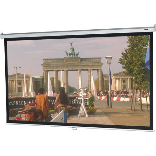 "Da-Lite 92735 Model B Manual Front Projection Screen (96x96"")"