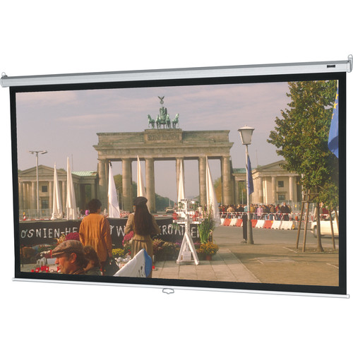 "Da-Lite 92735 Model B Manual Front Projection Screen (96x96"")"