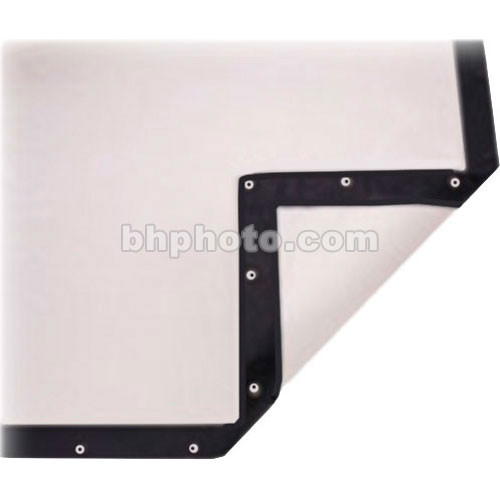 """Da-Lite Replacement Surface for Fast-Fold Portable Front and Rear Projection Screen - 21 x 30"""" - 37"""" Diagonal - Dual Vision"""