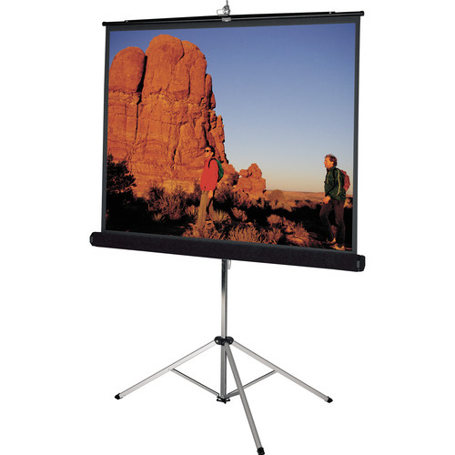 "Da-Lite 93866 Picture King Tripod Front Projection Screen (50x50"")"
