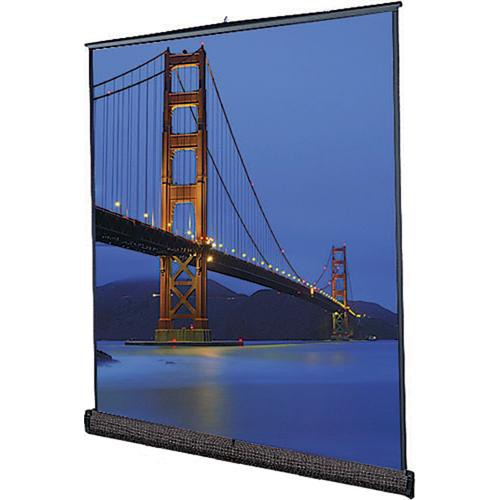 Da-Lite 93895 Floor Model C Portable Manual Front Projection Screen (10x10')