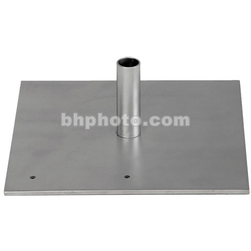 Da-Lite Flat Steel Base with Mounting Stud - 2 Required  93943