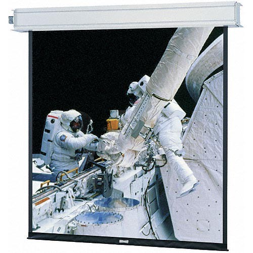 "Da-Lite 94285LS Advantage Electrol 54 x 96"" Ceiling-Recessed Motorized Screen (120V)"