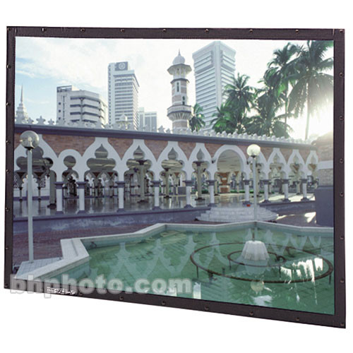 "Da-Lite 95579 Perm-Wall Fixed Frame Projection Screen (49 x 87"")"