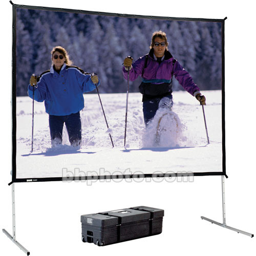 """Da-Lite 95680 Fast-Fold Deluxe Screen System (62 x 108"""")"""