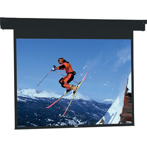 "Da-Lite 96209ES Horizon Electrol Motorized Masking Projection Screen (57"" Format Width)"