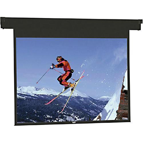 "Da-Lite 96218 Horizon Electrol Motorized Masking Projection Screen (80"" Format Width)"