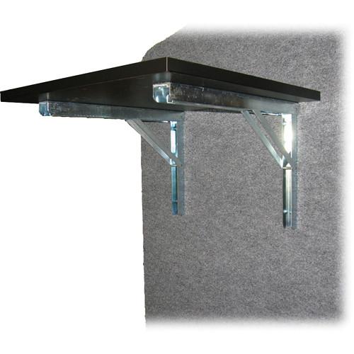 Da-Lite Laminate Flip-Up Side Shelf