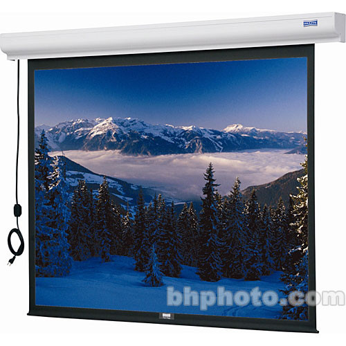 "Da-Lite Designer Cinema Projection Screen - 37.5 x67"" - Matte White"