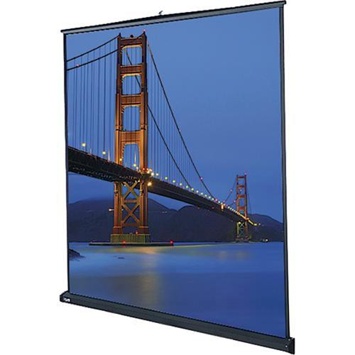 "Da-Lite 98042 Floor Model C Manual Front Projection Screen (105x140"")"