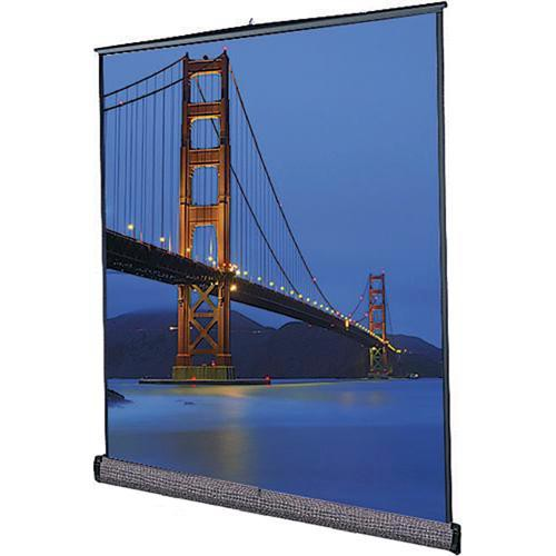 "Da-Lite 98047 Floor Model C Portable Manual Front Projection Screen (105x140"")"
