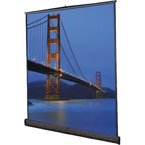 "Da-Lite 98048 Floor Model C Portable Manual Front Projection Screen (105x140"")"