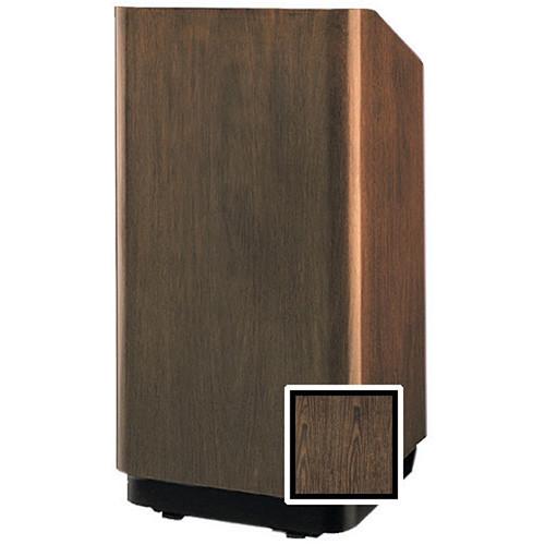 "Da-Lite 98063GW Concord Floor Lectern - 32"" (Gunstock Walnut Veneer)"
