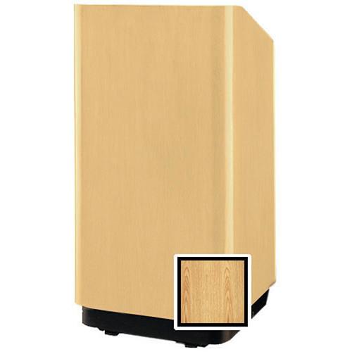 """Da-Lite 98063LO Concord Floor Lectern - 32"""" (Light Oak Laminate)"""