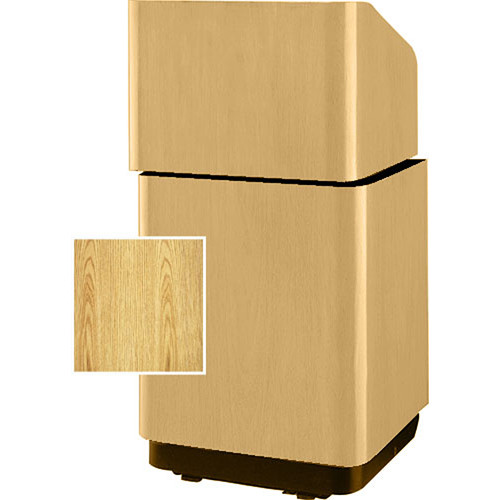 "Da-Lite Concord Stacking Lectern - 25""  (Lt. Oak Laminate)"