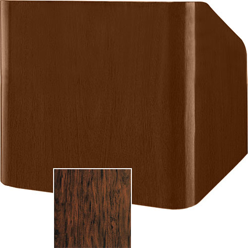 """Da-Lite Concord 25"""" Table Lectern (Figured Mahogany)"""