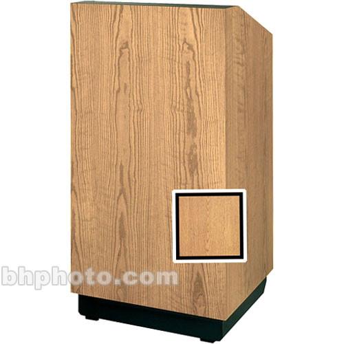 "Da-Lite Floor Lectern 98103HW - 32"" (Light Oak Veneer)"