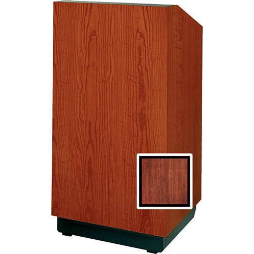 "Da-Lite Floor Lectern 98107M- 25"" (Mahogany Veneer)"