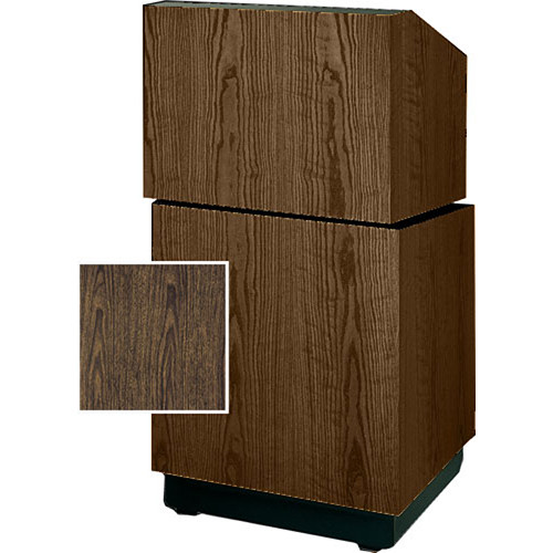 "Da-Lite Lexington Stacking Lectern 98109GW - 25""  (Gunstock Walnut Veneer)"