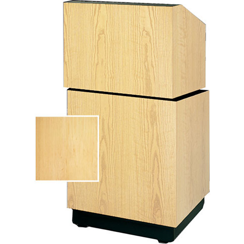 "Da-Lite Lexington Stacking Lectern 98111HM - 25""  (Honey Maple Veneer)"