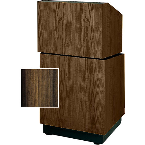 "Da-Lite Lexington Stacking Lectern 98111HW - 25""  (Heritage Walnut Veneer)"