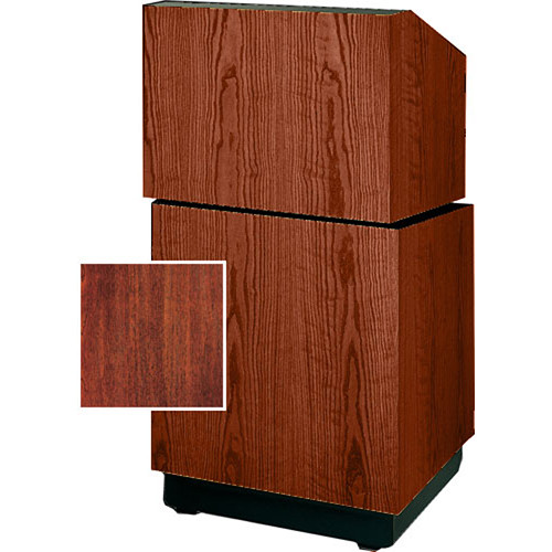 "Da-Lite Lexington Stacking Lectern 98111M - 25""  (Mahogany Veneer)"
