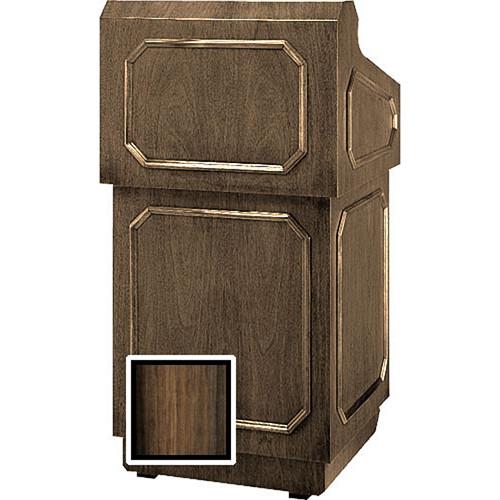 "Da-Lite Floor Lectern 98125HWV - 32"" (Heritage Walnut Veneer)"