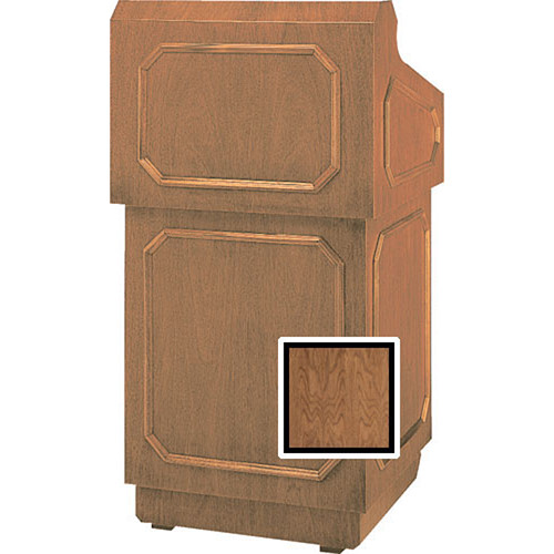 "Da-Lite Floor Lectern 98125NWV - 32"" (Natural Walnut Veneer)"