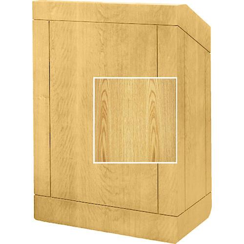 "Da-Lite Floor Lectern 98141LO - 32"" (Light Oak Laminate)"