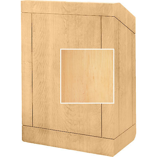 "Da-Lite Floor Lectern 98143HM - 32"" (Honey Maple Veneer)"