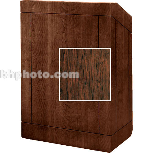 "Da-Lite Floor Lectern, 42"" Multi-Media 98153FM (Figured Mahogany)"