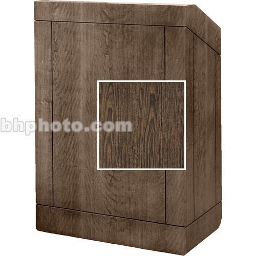 Da-Lite Floor Lectern (Heritage Walnut)