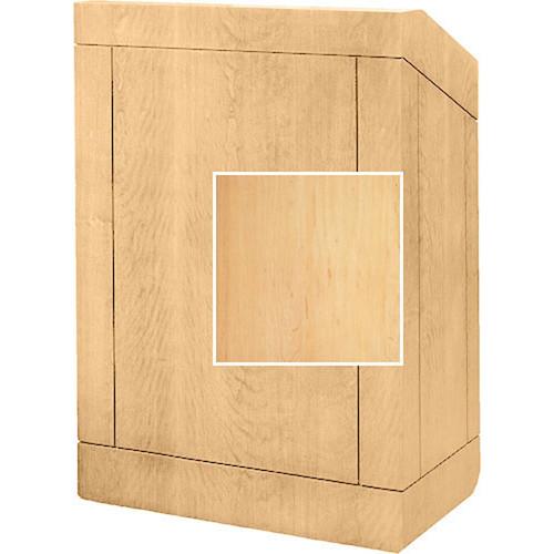 """Da-Lite Providence 42"""" Multi-Media Floor Lectern (Honey Maple)"""