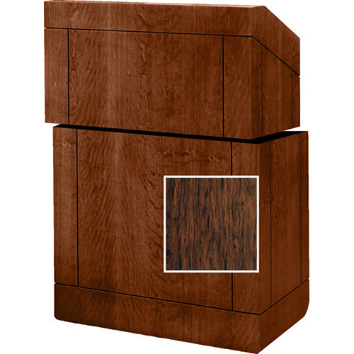 "Da-Lite Stacking Lectern - 25""  (Figured Mahogany Veneer)"