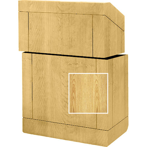 "Da-Lite Stacking Lectern - 25""  (Lt. Oak Laminate)"