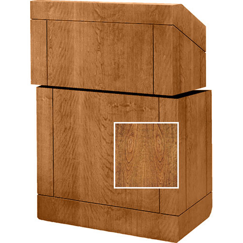 "Da-Lite Stacking Lectern - 25""  (Cherry Veneer)"