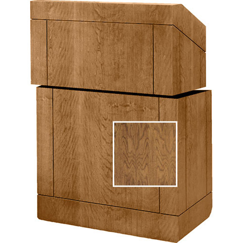 "Da-Lite Stacking Lectern - 25""  (Natural Walnut Veneer)"