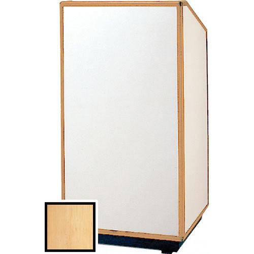 "Da-Lite 98164 Floor Lectern (32"" Wide, Honey Maple Laminate)"
