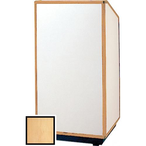 "Da-Lite 98165 Floor Lectern (32"" Wide, Honey Maple Laminate)"