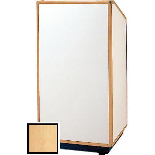 "Da-Lite 98172 Floor Lectern (32"" Wide, Honey Maple Laminate)"