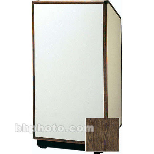 "Da-Lite Cambridge Floor Lectern - 32"" (Gunstock Wood Laminate)"