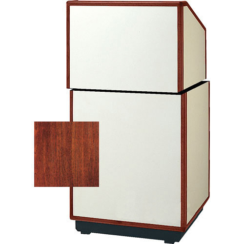 "Da-Lite 98182 Cambridge Stacking Lectern (25"" Wide, Mahogany Veneer)"