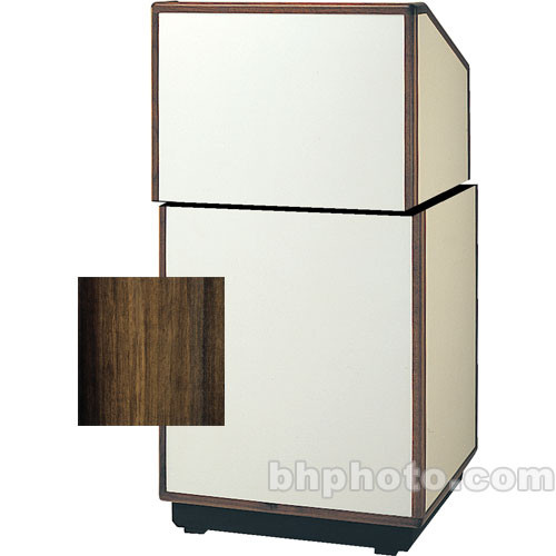 "Da-Lite Cambridge Stacking Lectern - 25"" (Heritage Walnut Veneer)"