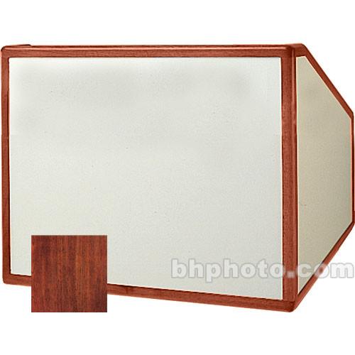 """Da-Lite Table Top Lectern 98187M - 25"""" (Mahogany Veneer)"""