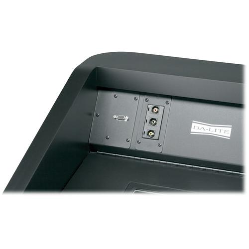 Da-Lite RCA Snap-in Connector (Black)
