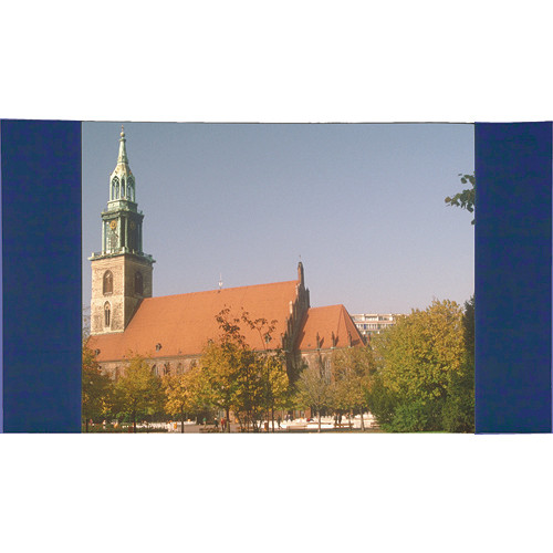 """Da-Lite 99171BU Masking Panel (83 x 144"""", Blue)"""