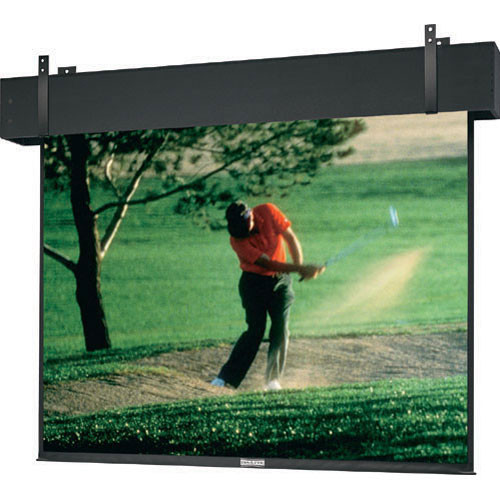 "Da-Lite Professional Electrol Motorized Front Projection Screen - Ceiling Recessed - 133 x 236"" - 271"" Diagonal - HDTV Format (16:9 Aspect Ratio)  (Matte White)"
