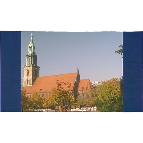 """Da-Lite 99792BU Masking Panel (13 x 22'4"""", Blue)"""